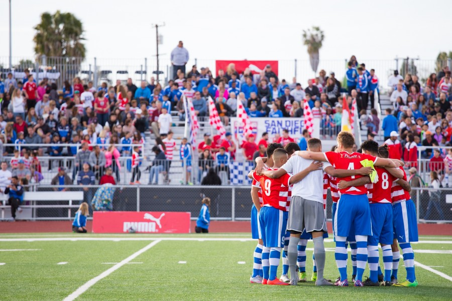 Albion Pros Begin San Diego Professional Soccer in Style!