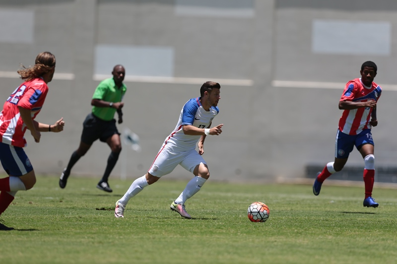 Chula Vista's Paul Arriola Scores First Senior Goal in USMNT Win