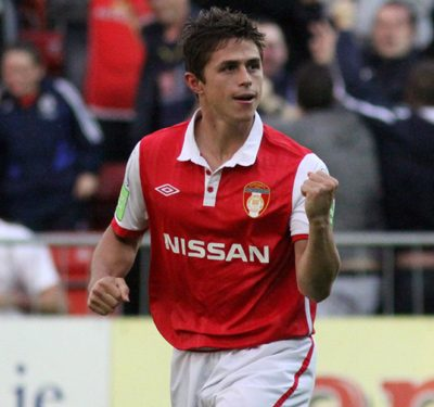 Ryan Guy is a beloved figure in both San Diego and Dublin, Ireland, where he starred for St. Patrick's Athletic F.C. from 2007-2010.