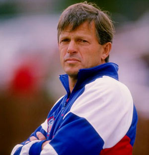 Bob Gansler, pictured here in 1990,helped guide the U.S. to their first World Cup in 40 years