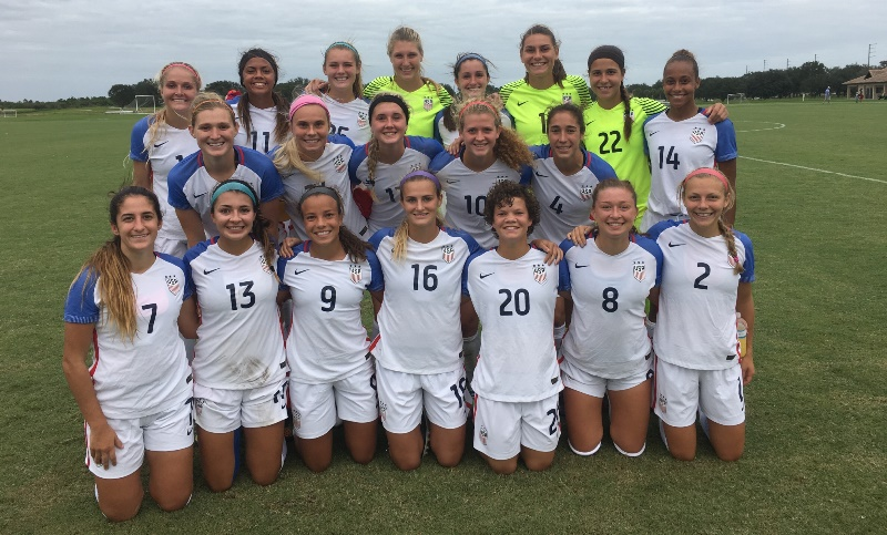 Four California Natives Named To U.S. Roster For Upcoming U-20 Women's World Cup