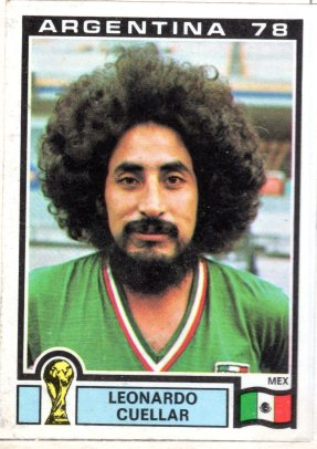 It was hard to miss Leonardo Cuellar at the 1978 World Cup
