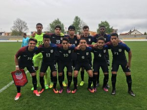 U-18 MNT With 6 California Natives Finish Second At Slovakia Cup