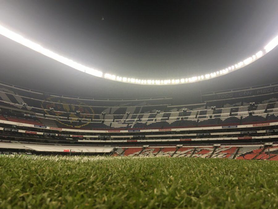 Mexico city part 3 the bright lights of estadio azteca for Puerta 1 estadio azteca