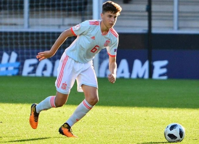 Image result for Real Madrid sign Spain Under-19 midfielder Ivan Morante