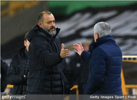 Wolverhampton Wanderers 1-1 Tottenham Hotspur: Three things to note as Mourinho tactics fail again