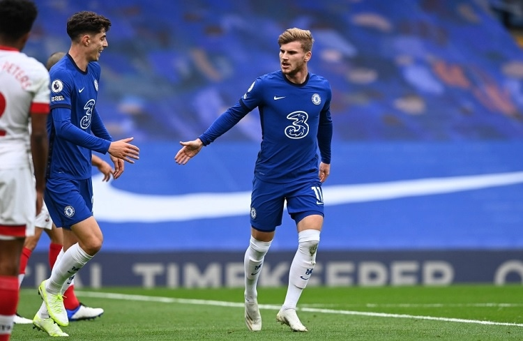 Chelsea boss Frank Lampard isn't worried about Timo Werner lack of goals (Video)