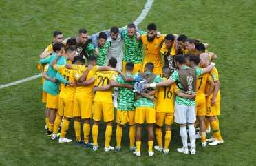 Image result for australia vs france huddle
