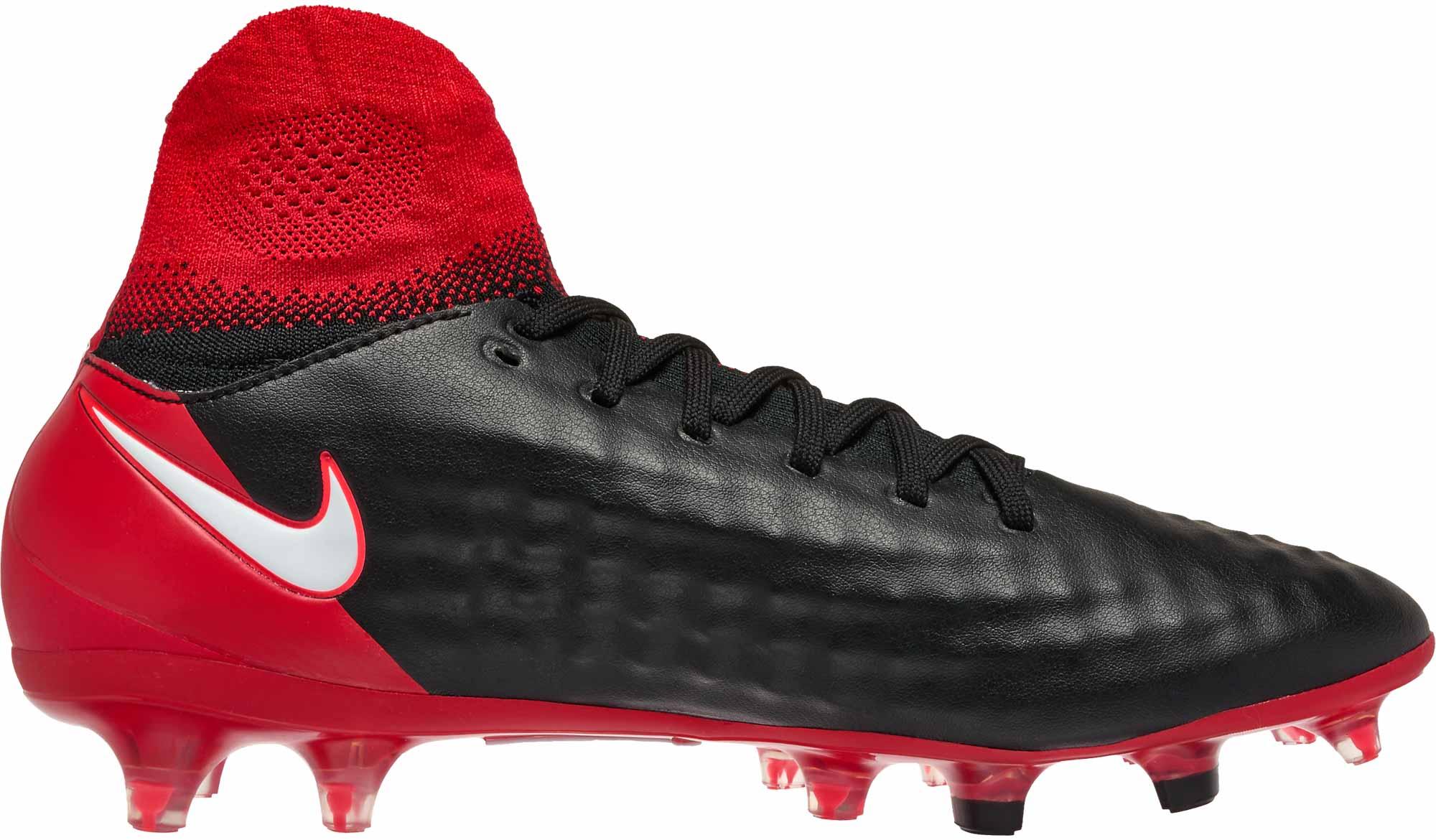 Nike Magista Orden II FG  Black  White
