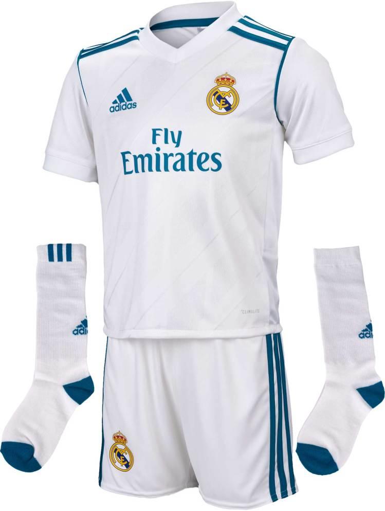 adidas Real Madrid Home Mini Kit - 2017/18 Real Madrid