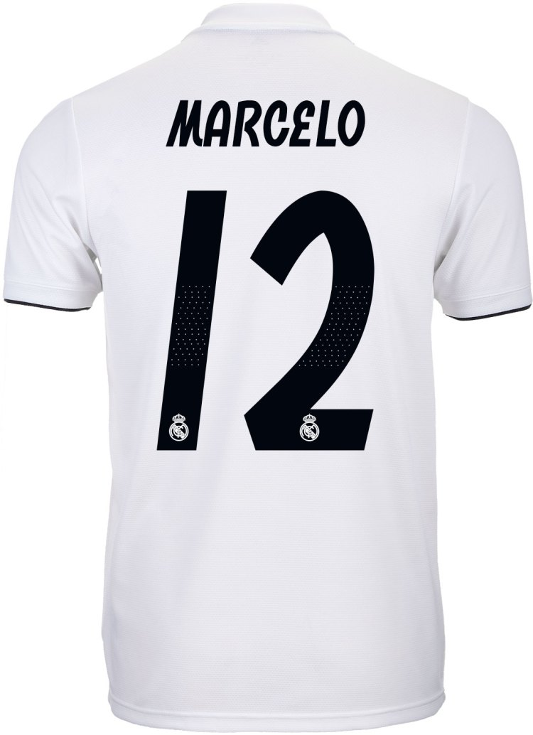 adidas Marcelo Real Madrid Home Jersey 2018-19 - SoccerPro