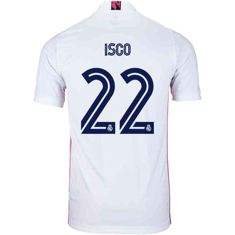 2020/21 Kids adidas Isco Real Madrid Home Jersey - SoccerPro
