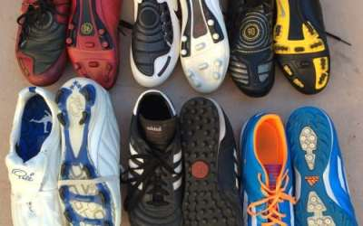 My Cleat Collection