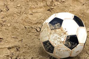 voetbalstrand