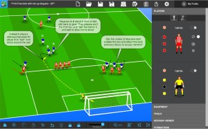Tactics Manager Soccer Coaching Software  Create your own Practcies, Tactics and Sessions