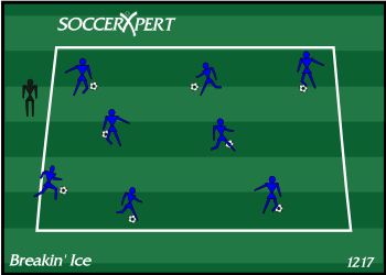U6 U8 Soccer Drill Fun Soccer Drill Free Soccer Drill