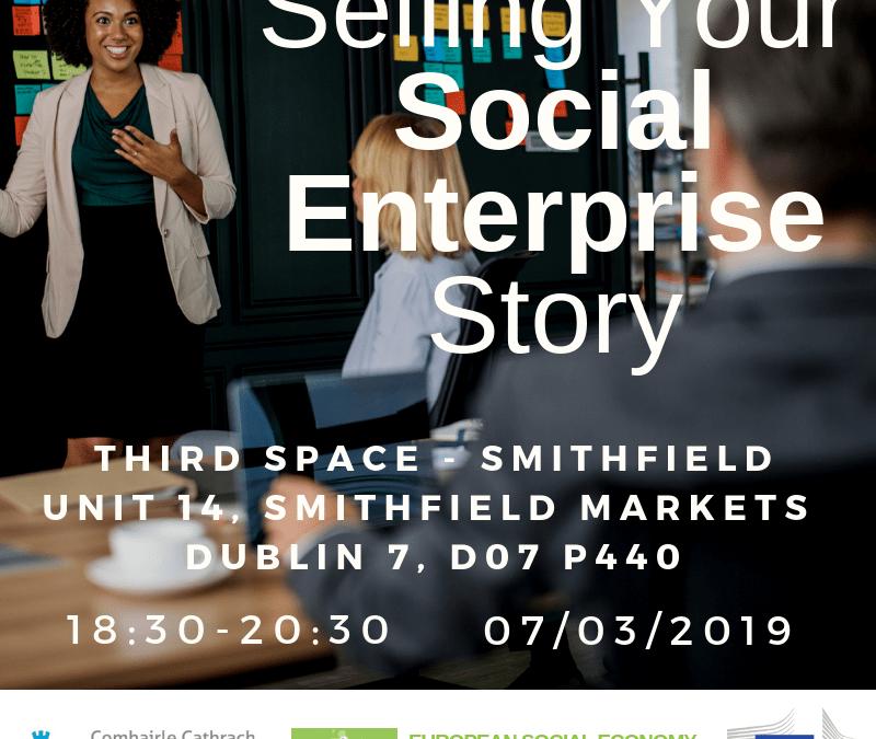 Selling your Social Enterprise Story