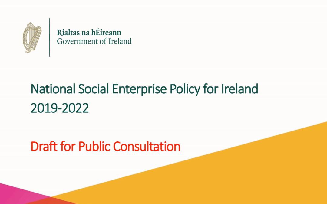 Draft ISEN Response to Social Enterprise Policy