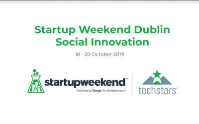 Startup Weekend Dublin is BACK with an all new theme of Social Innovation!!