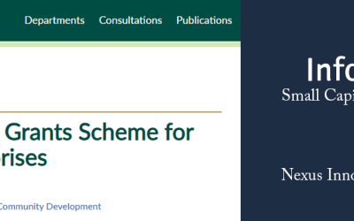 Info Evening Small Capital Grants Scheme
