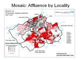Affluent localities in Huddersfield