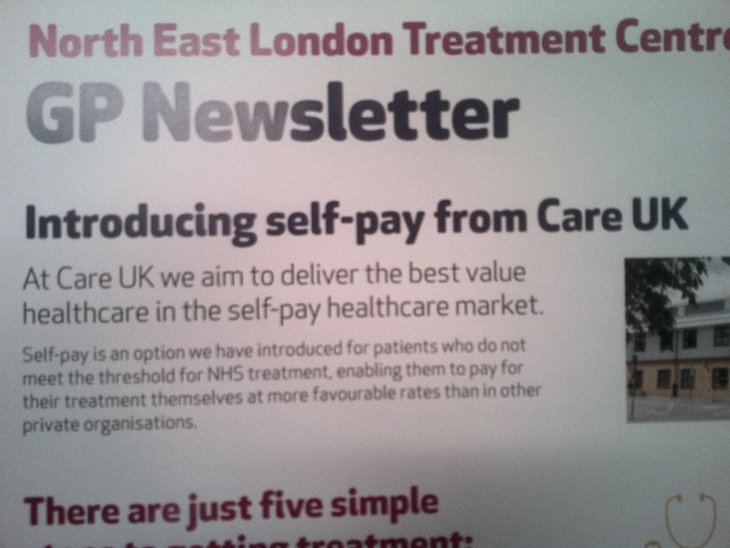 Care UK GP Newsletter