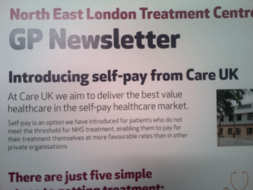 Care UK GP Newsletter