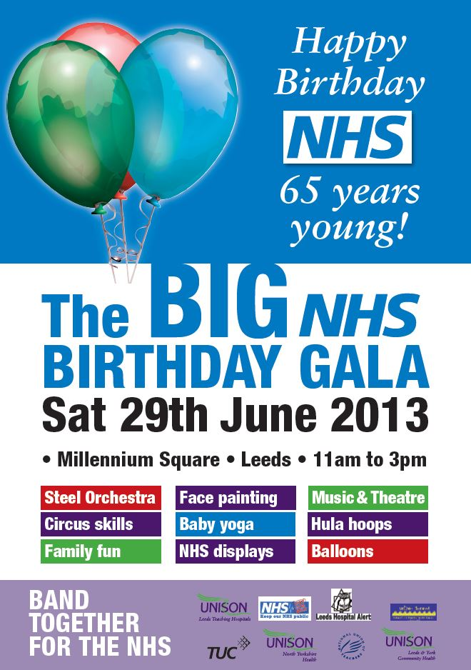 NHS Birthday Gala