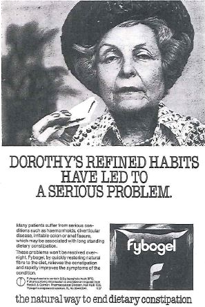 Fybogel advert 1979
