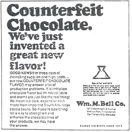 Counterfeit Chocolate
