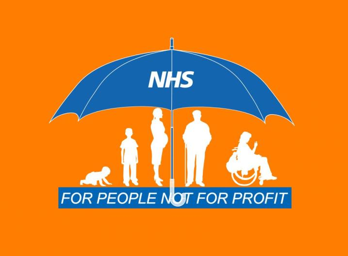 NHS for people not for profit