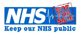 Keep Our NHS Public logo