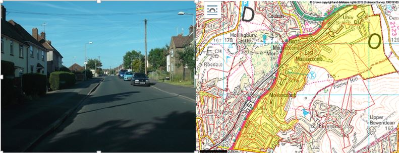 map and picture