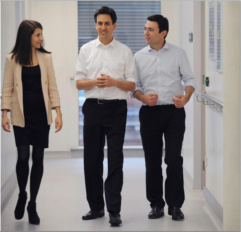 Miliband, Burnham and Kandall