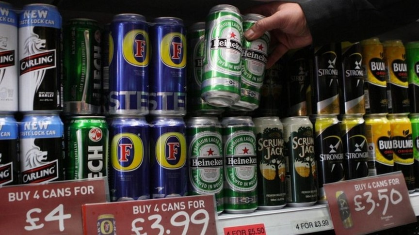 Cheap lager