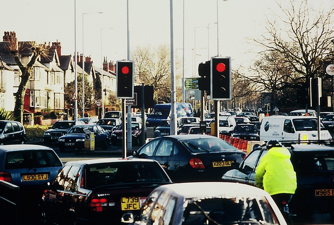 Congested street