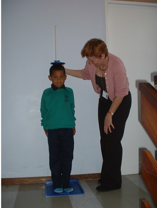 Measuring a child