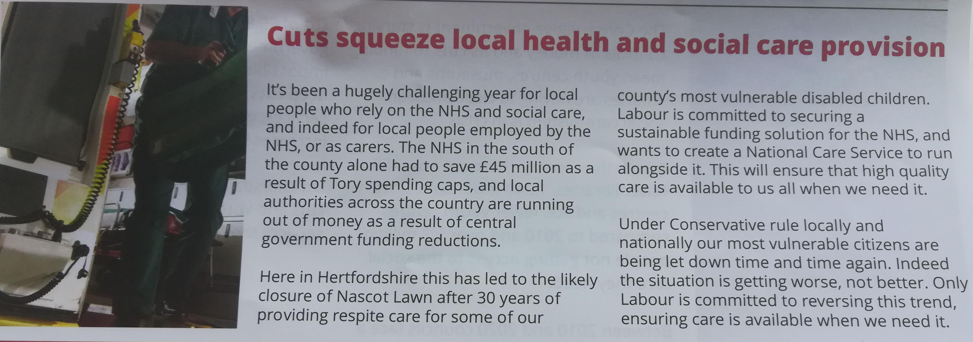 Hertfordshire leaflet