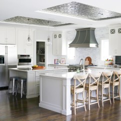 Kitchen Ceiling Tiles Yellow Pine Cabinets Tile Design Ideas