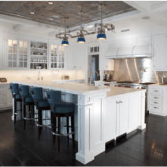 Kitchen Ceiling Tiles Making A Island From Cabinets Trend Tin So Chic Life