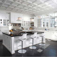 Kitchen Ceiling Tiles Corner Seating Trend Tin So Chic Life