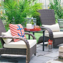 Outdoor Chairs Kmart American Diner Table And Update Patio With So Chic Life