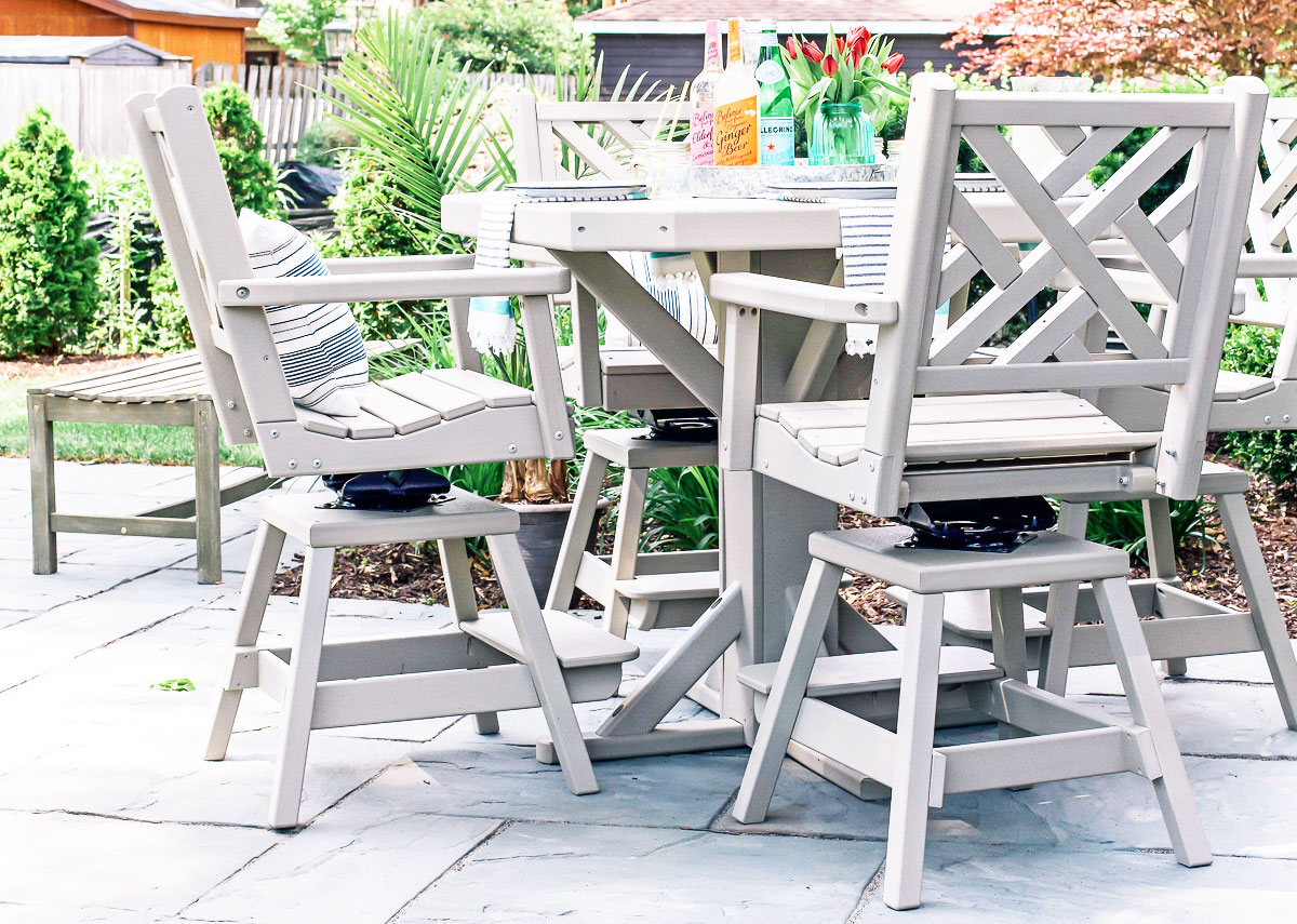 maintenance free outdoor furniture so