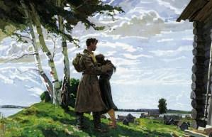 1946 год вернулся без вести пропавший на картине А.П.Горского