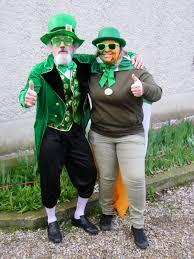 Saint Patrick costume