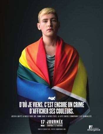 Communication campaign against homophobia