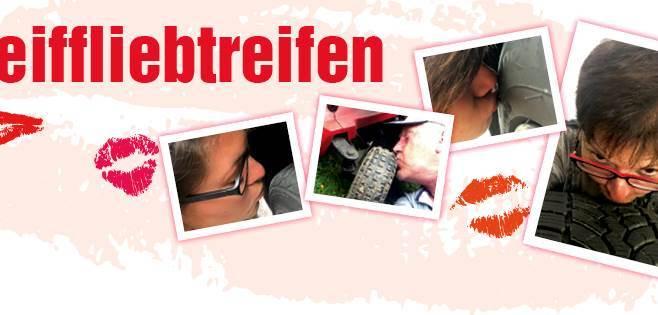 Küssen für den guten Zweck – Facebook-Charityaktion von Reiff
