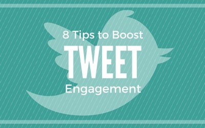 8 Tips to Boost Your Tweet Engagement-Infographic