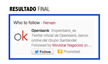 RESULTADO FINAL TWITTER PROMOTED ACCOUNT