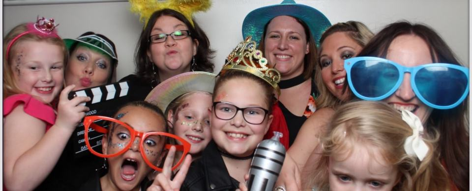 Ava's Army photo booth in Derbyshire